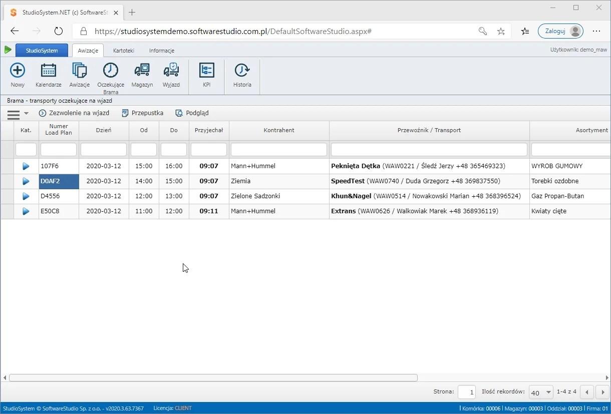 VSS.net time slot management
