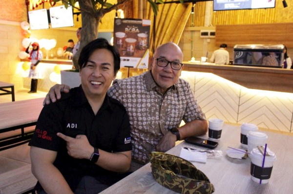 With Mr. Peter F Gontha Indonesian Ambassador to Poland 2014