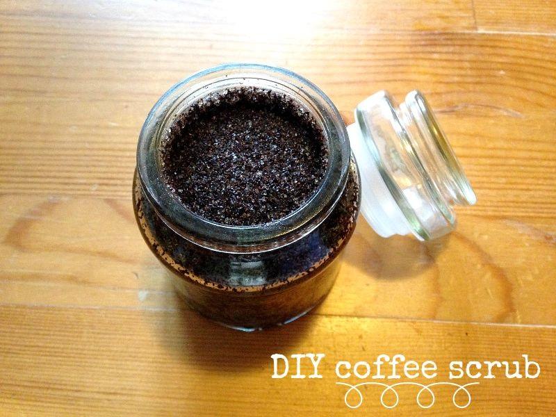 DIY coffeescrub