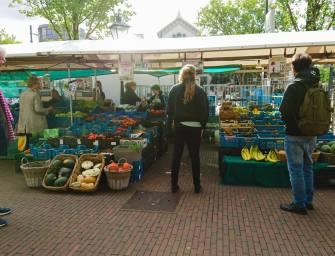 Biologische markt Rotterdam