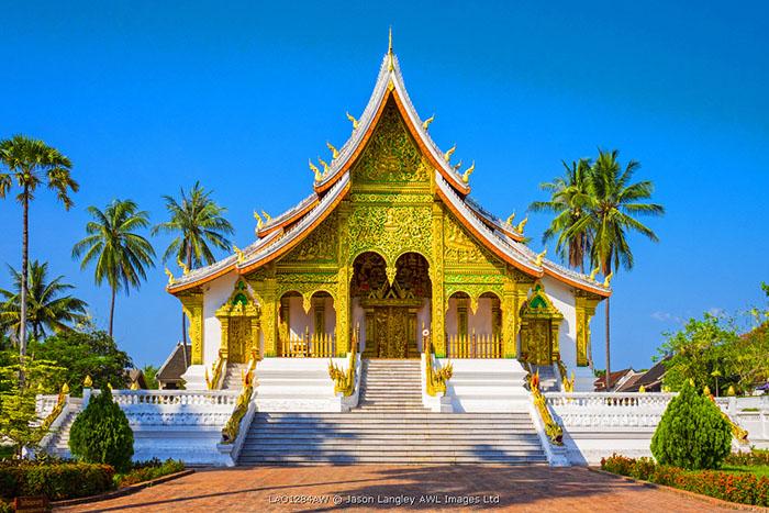 Haw Pha Bang temple on the grounds of the Royal Palace, Luang Prabang, Louangphabang Province, Laos
