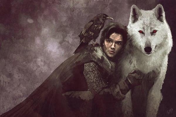 File:Jon Snow Ghost.jpg