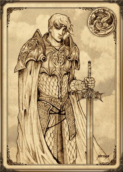 File:Aegon I Targaryen by feliche.png