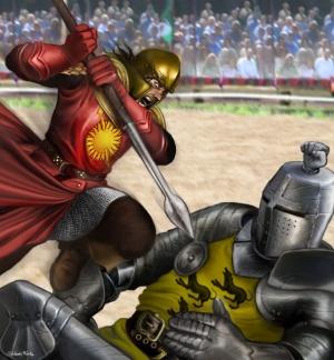 Oberyn contra Gregor Clegane