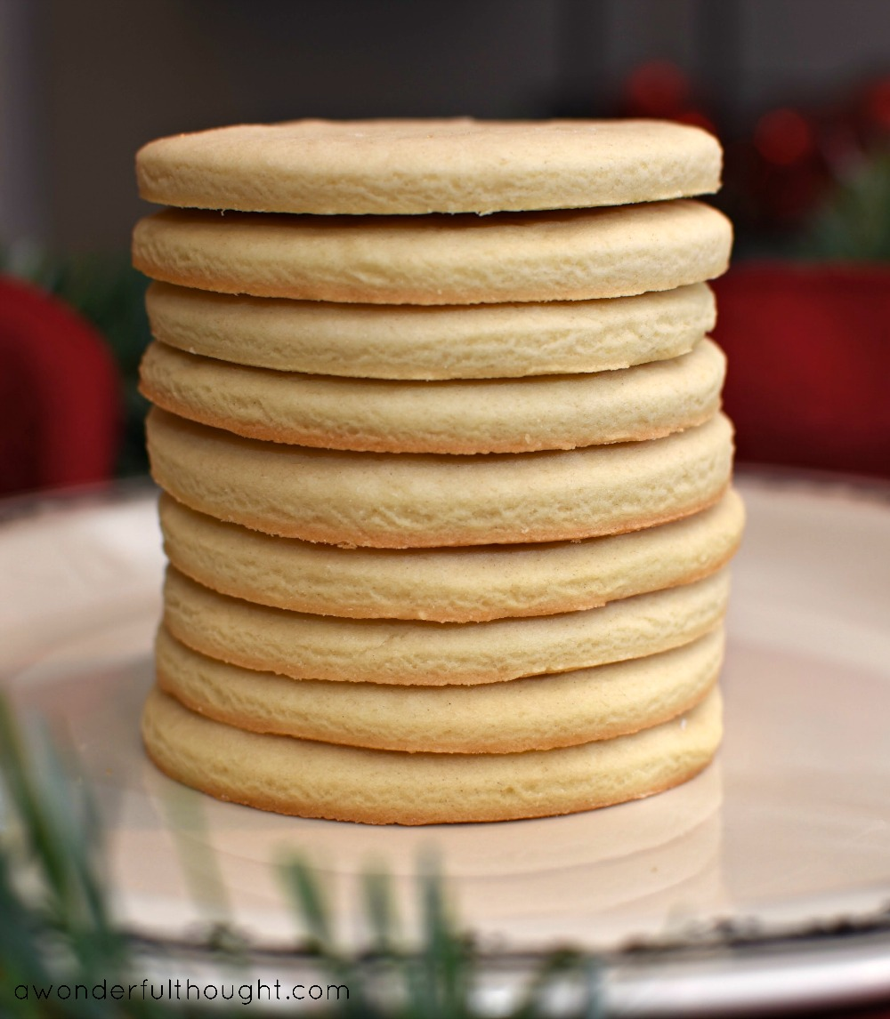 A Wonderful Thought | How to Make a Perfect Sugar Cookie Every Time | awonderfulthought.com