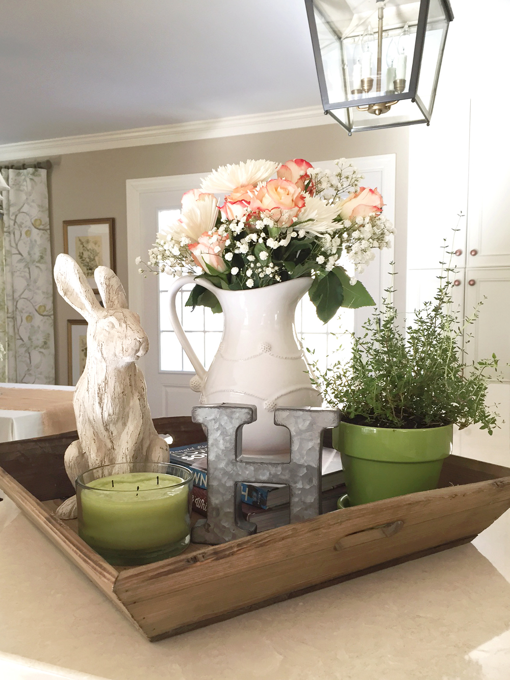 Tips for Creating an Easter Vignette - A Wonderful Thought