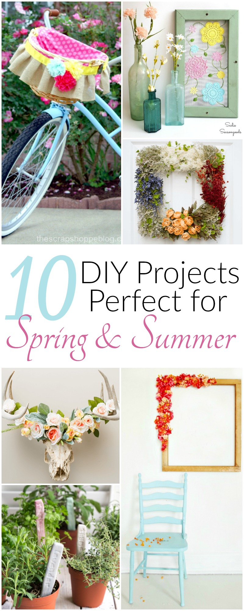 10 DIY Projects Perfect for Spring | awonderfulthought.com