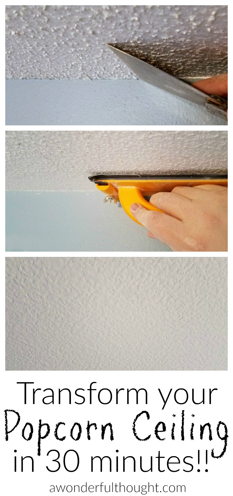 Phenomenal 2 Ways To Remove Popcorn Ceilings A Wonderful Thought Download Free Architecture Designs Xerocsunscenecom