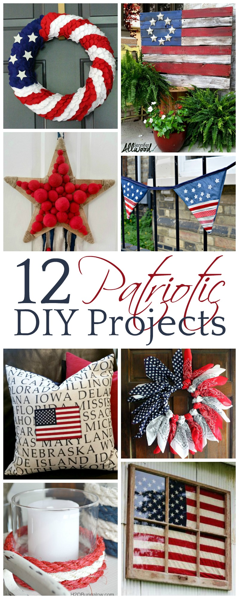 12 Patriotic Diy Projects Mm 157 A Wonderful Thought