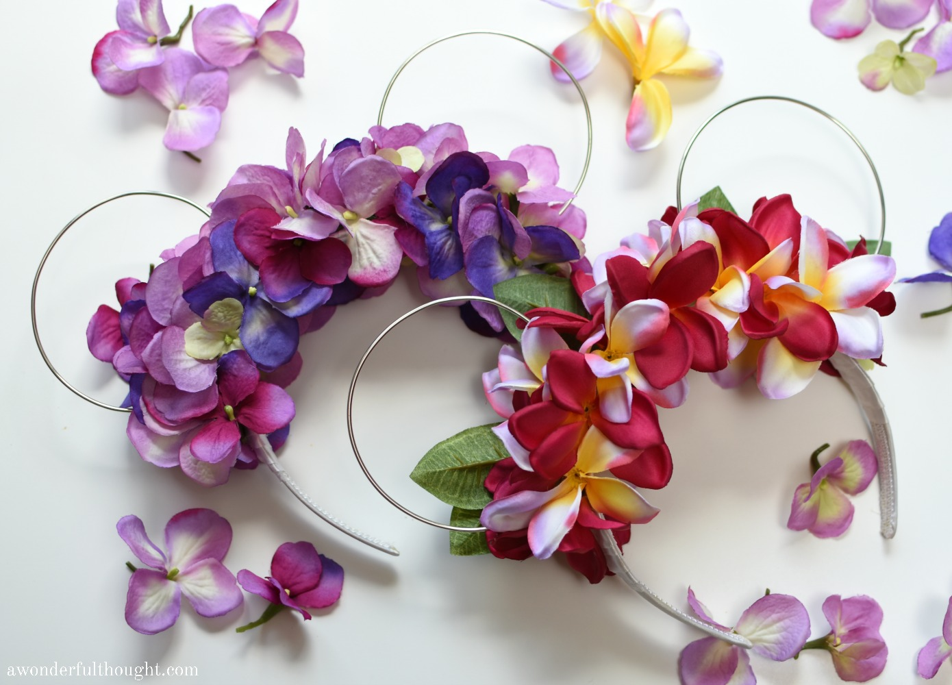 Diy Floral Wire Minnie Ears A Wonderful Thought