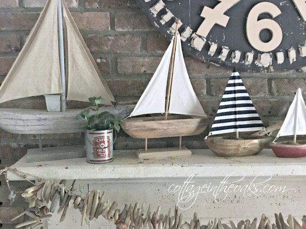 Coastal Beach Inspired Decor | awonderfulthought.com