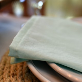 Simple DIY Cloth Napkins | awonderfulthought.com