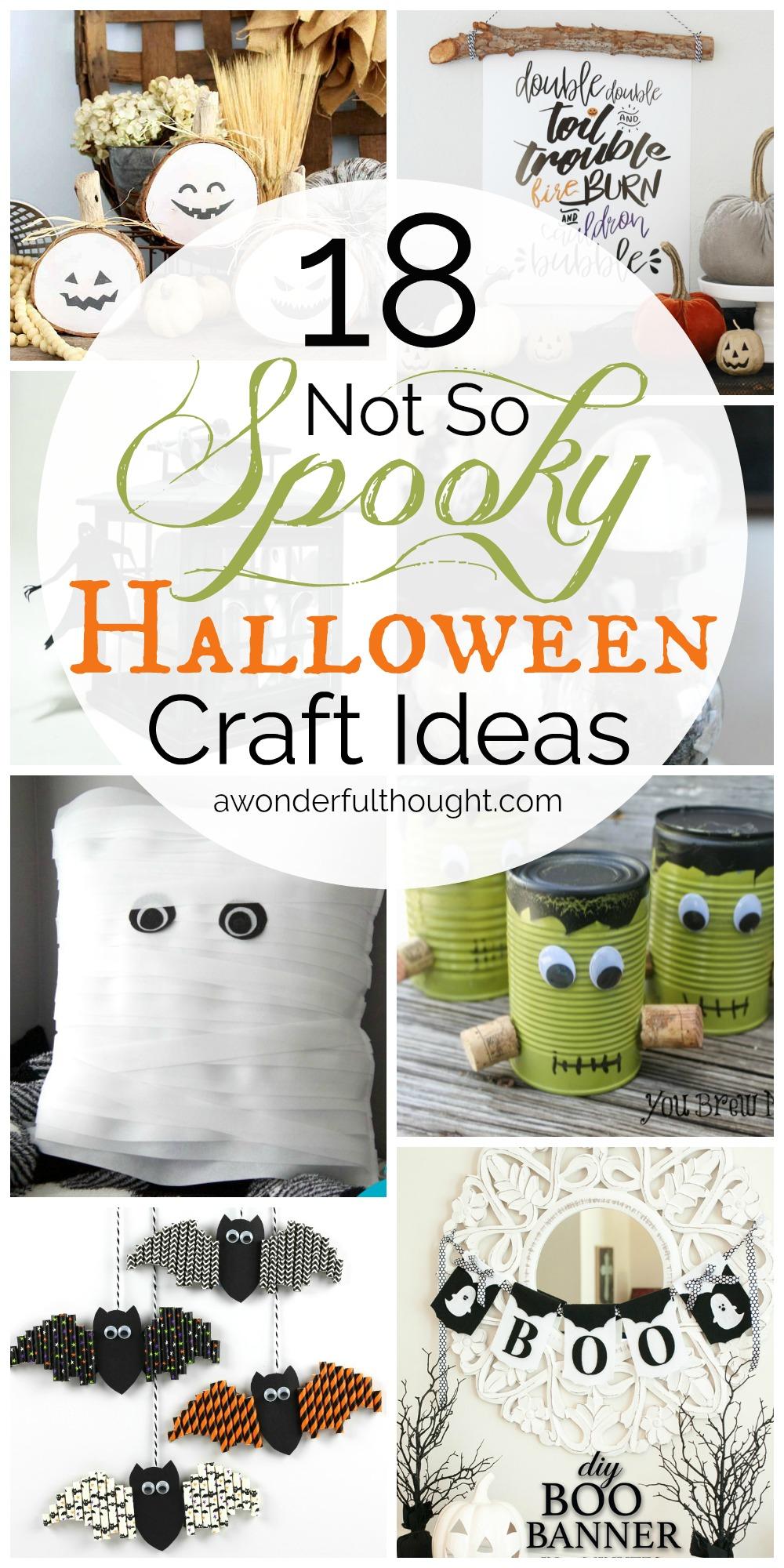 Not So Spooky Halloween Craft Ideas Mm 173 A