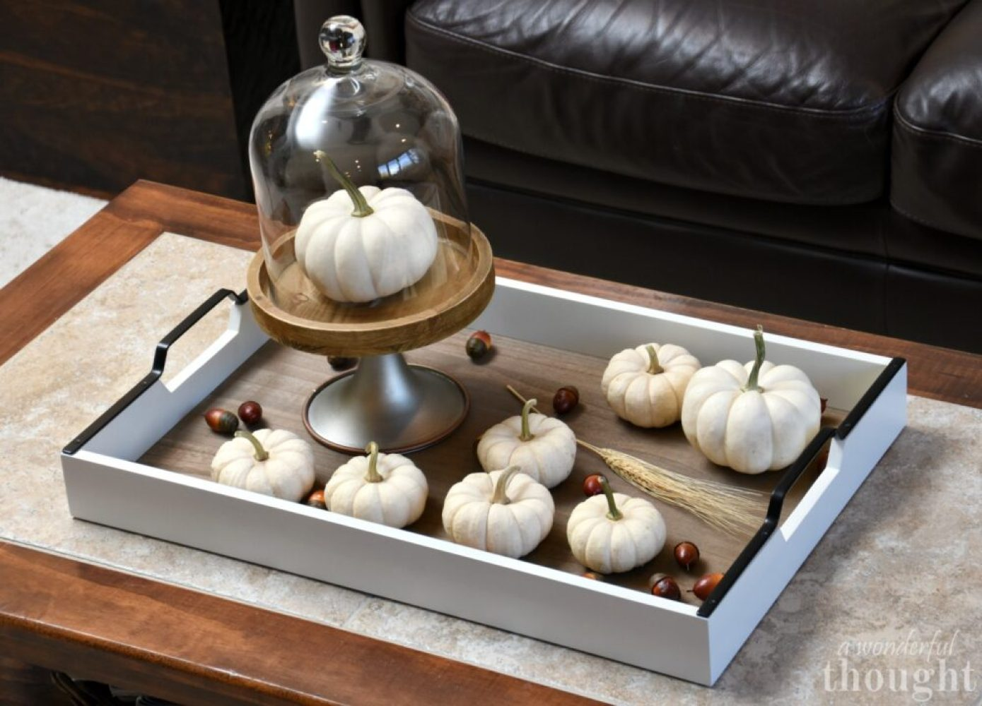 Simple Fall Vignette | awonderfulthought.com