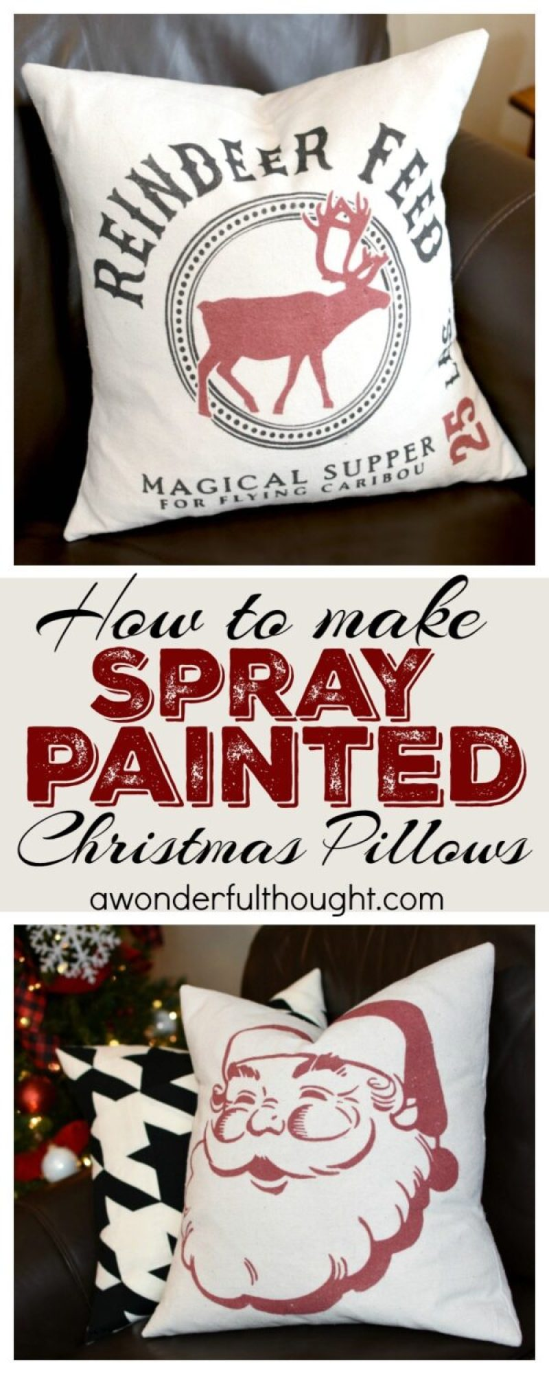 15 Holly Jolly Christmas DIY Projects #diy #christmasdiy #christmascrafts #awonderfulthought.com