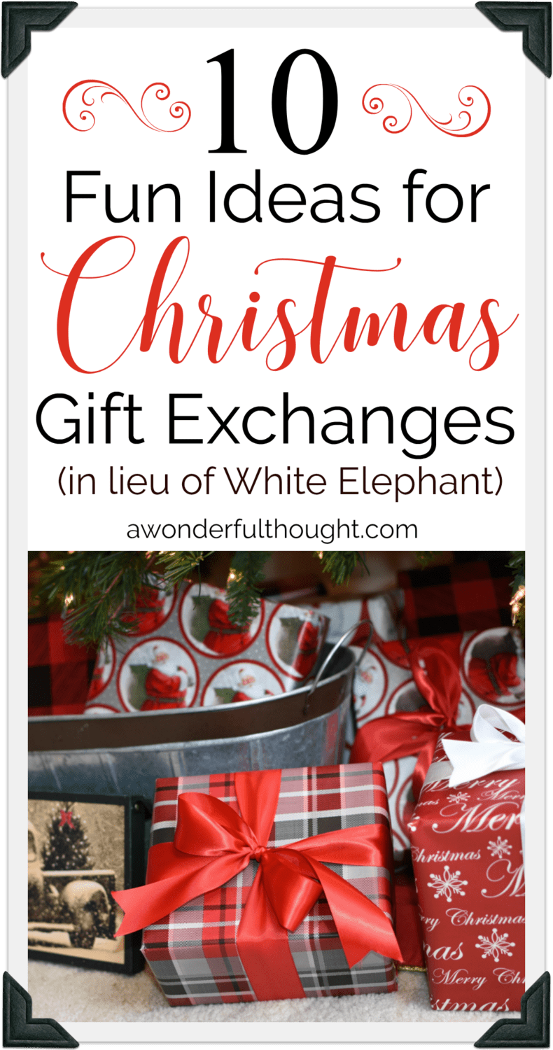 10 fun christmas gift exchange ideas in lieu of white elephant partygames giftexchange