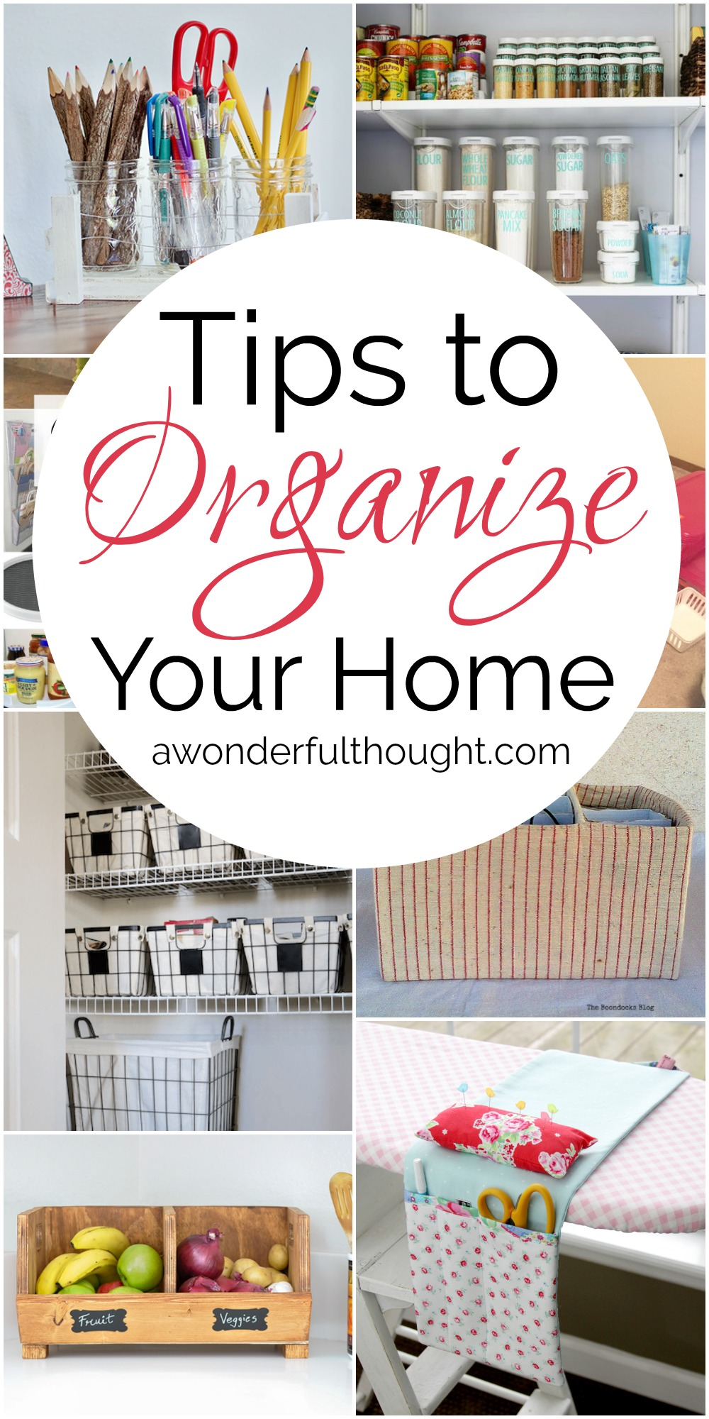 Tips to Organize Your Home | MM #188 - A Wonderful Thought