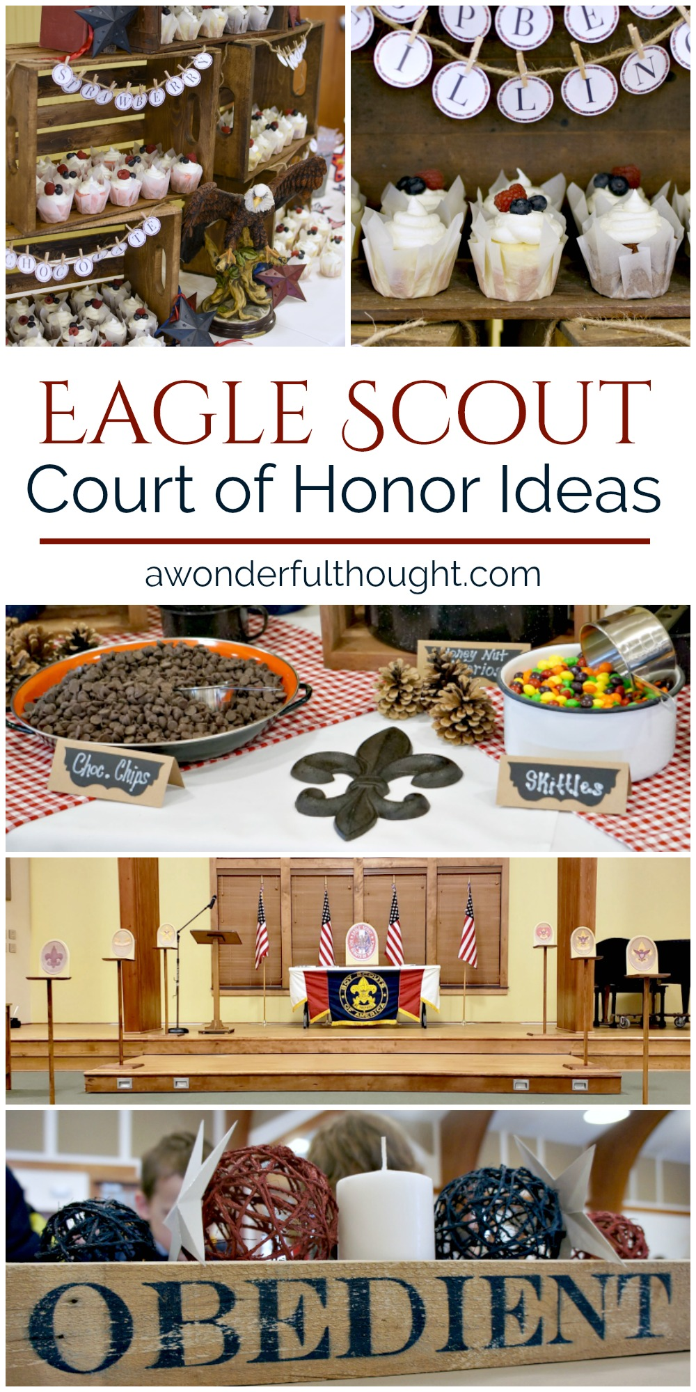 Eagle Scout Court Of Honor Centerpiece Idea Easy To Create