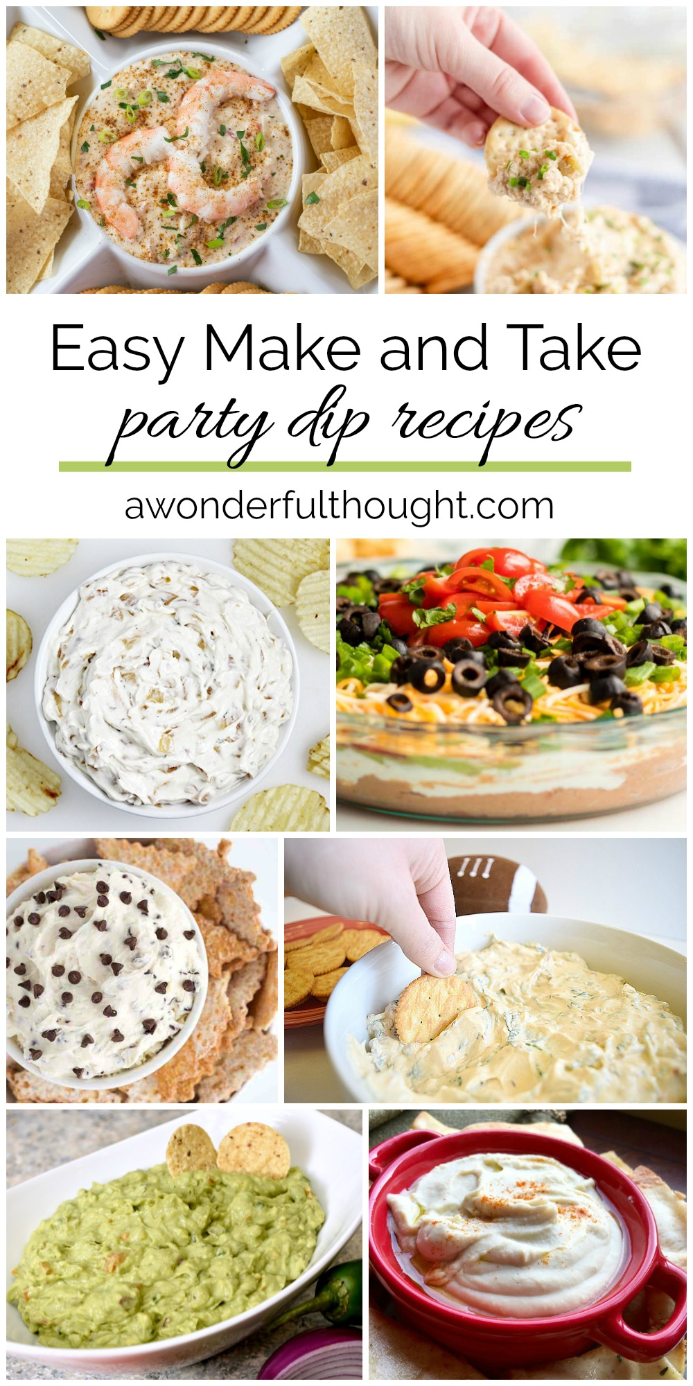 Easy Make And Take Party Dip Recipes A Wonderful Thought