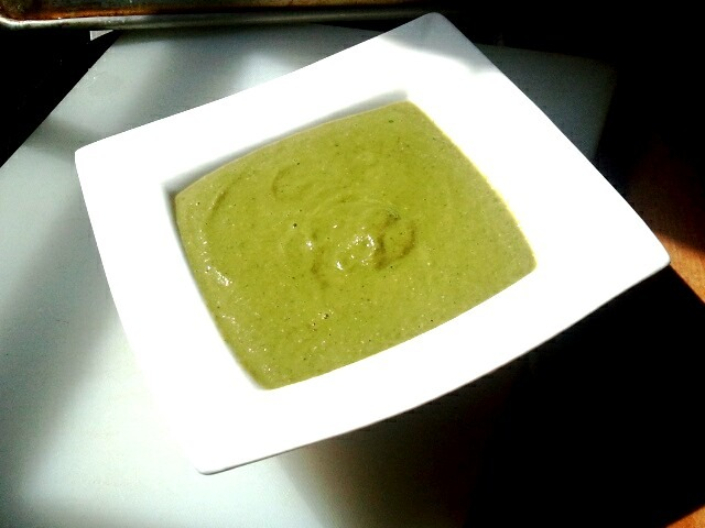 The Other Green Meat (featuring Vegan Zucchini, Avocado and Basil Soup)