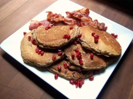 Pantry Raid (featuring Oatmeal Pomegranate Pancakes)