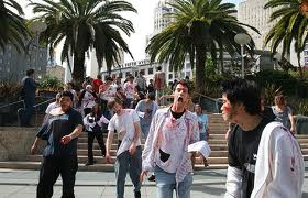 Zombies or marathoners?
