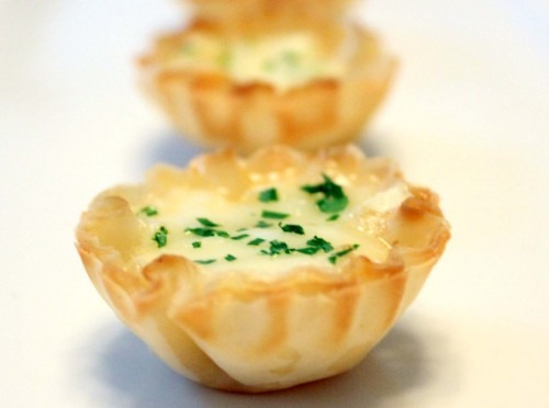 Thanks, but no thanks (featuring Brie Tartlets with Honey Garlic Sauce)