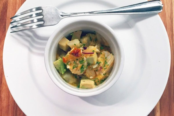 Look Inside (featuring Halibut Ceviche)