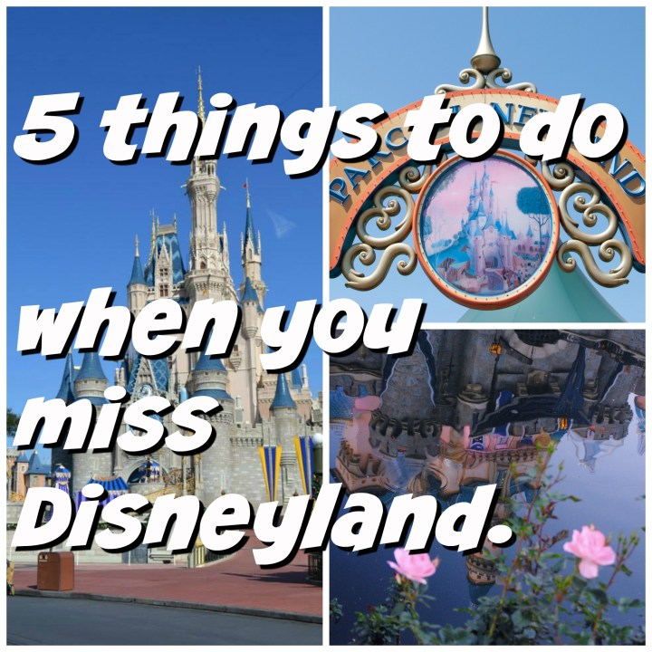 5 things to do when you miss Disneyland