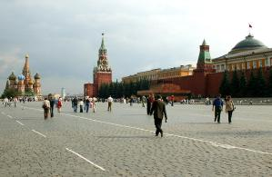 Red Square--on a snowless day
