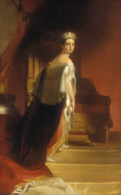 queen victoria, not to be confused with the palette.