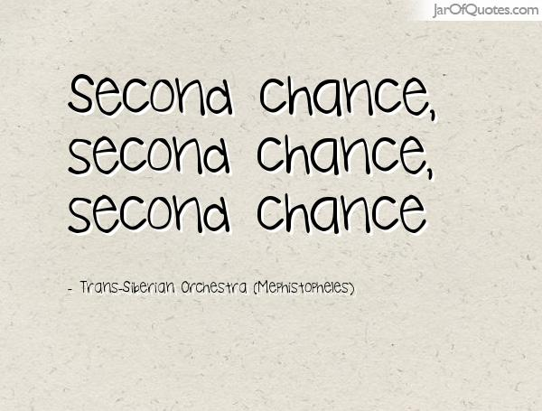 There really IS an orchestra called  Second Chance!