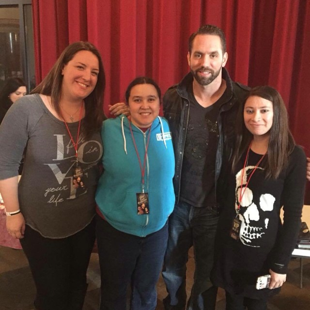 Pictured from left to right: Kayla Roth, Stefanie Allison (that would be MOI!), Nick Groff and Cynthia Rodriguez