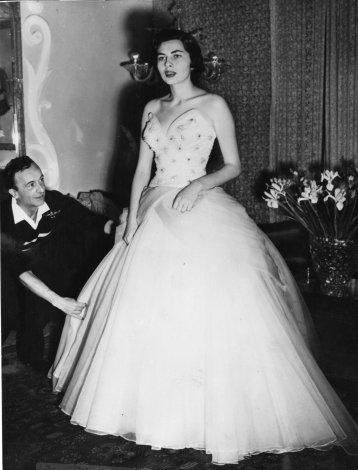 1953. Princess Soroya, Queen of Iran.