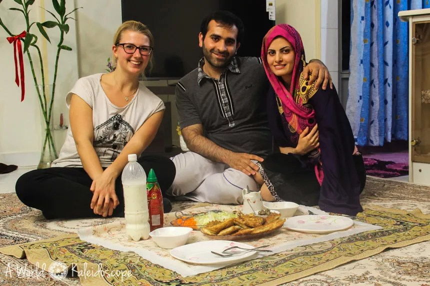couchsurfing-im-iran-meal