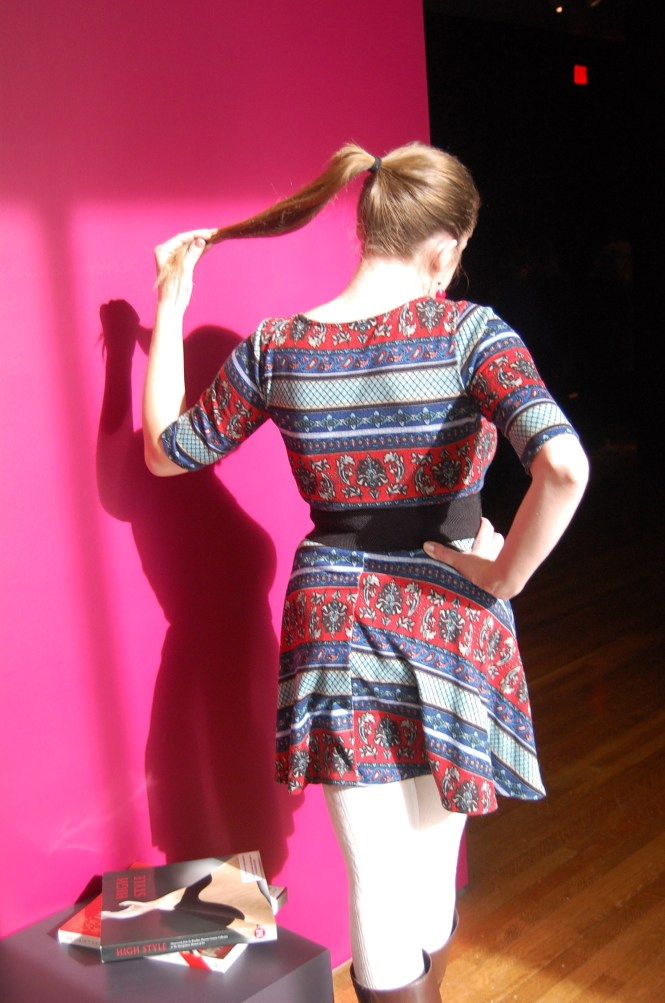 go-to colorful dress