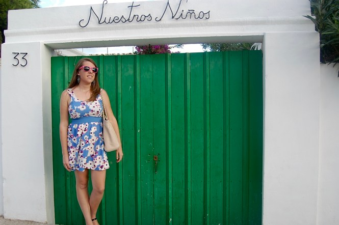 sundress in Ibiza