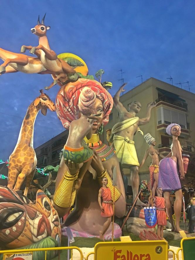 festival of fire in Spain