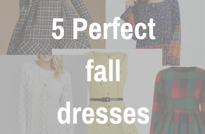 perfect fall dresses