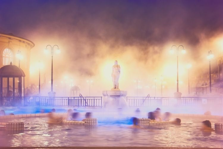 budapest hot springs