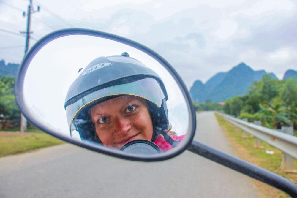 Scooterkørsel i Vietnam