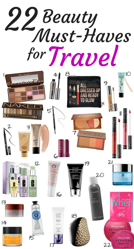22 Beauty Must-Haves for Travel