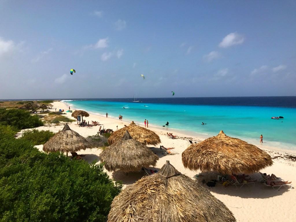 Beach on Klein Curaçao