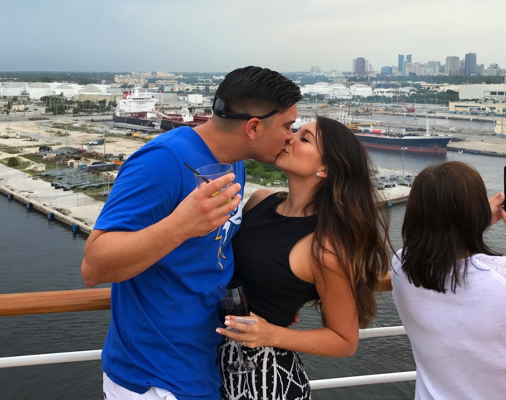Southwest Companion Pass_Royal Caribbean Harmony of the Seas_A Kiss on Deck