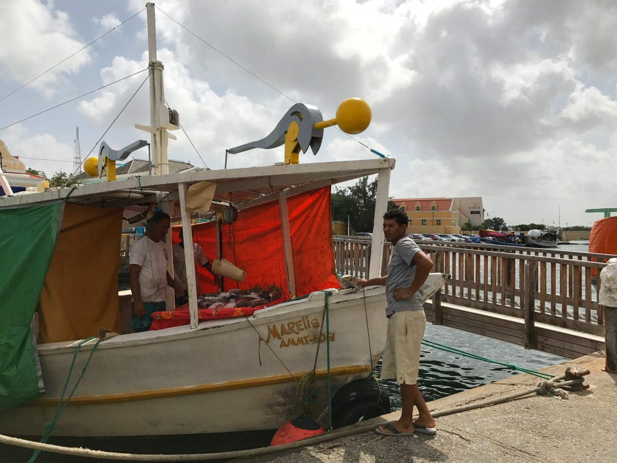 Floating Market in Willemstad, Curaçao