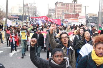 March For Our Future, Philadelphia Pennsylvania. January 8, 2016.