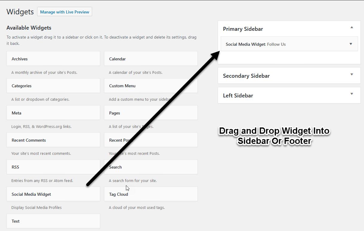 Adding Social Media Icon Into Site