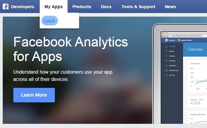 facebook-developer-login