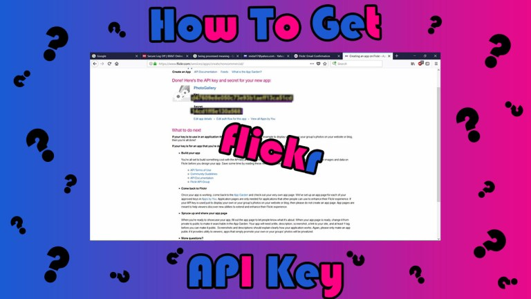 How-To-Get-Flickr-API-Key