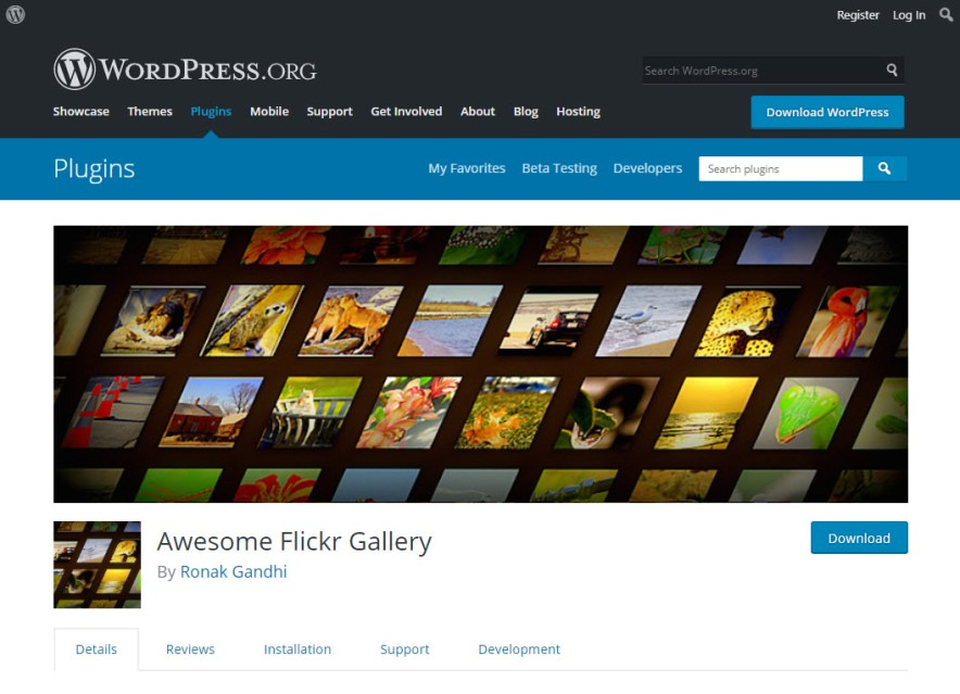 flickr gallery awesome